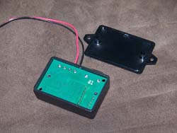 Plastic enclosures with board