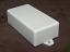 Plastic utility boxes w/ tabs.