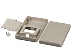 36T4AB Plastic Handheld Case, Flat Top, Battery Access