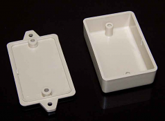 075X12 Plastic Wall Mount Enclosure Sand