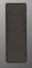 38TB Plastic ABS Handheld Enclosure Shallow Bottom