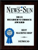 Local Readers Award SIMCO best Machine Shop