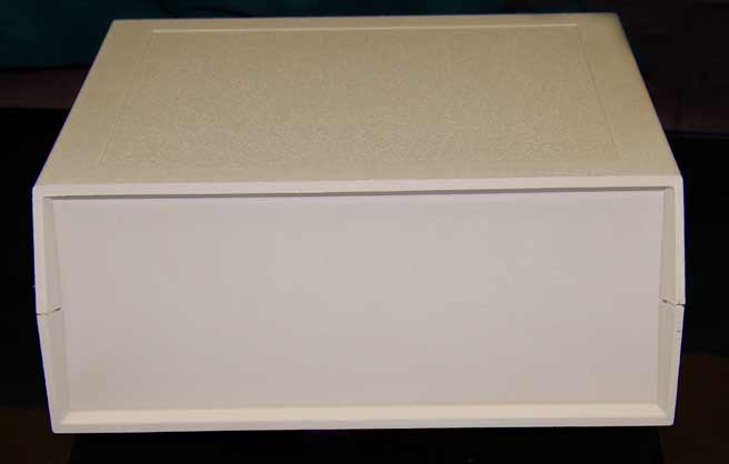 250X6 Plastic Desktop Enclosure Beige