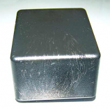 160X23 Black Plastic Enclosure - Seconds