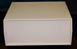 250X6 Plastic Desktop Enclosure Beige