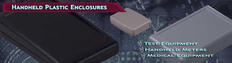 ABS Plastic Handheld Enclosures for Electronics